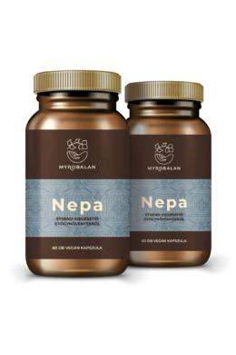NEPA - gyógynövény kapszula a nyugodt tudatért - 2 DOBOZ