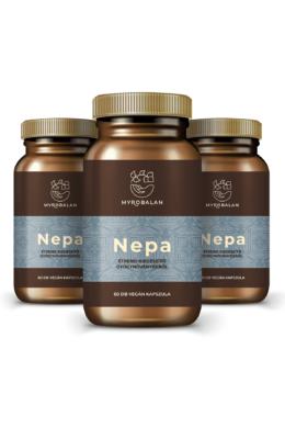 NEPA - gyógynövény kapszula a nyugodt tudatért - 3 DOBOZ