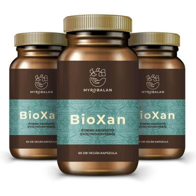 BioXan kiegyensúlyozó gyógynövény kapszula - 3 doboz 10% kedvezménnyel és ingyen szállítással