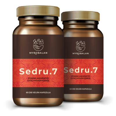 Sedru.7 emésztést serkentő gyógynövényes kapszula - 2 doboz