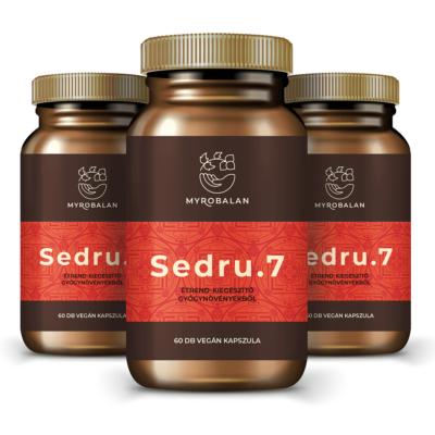 Sedru.7 emésztést serkentő gyógynövényes kapszula - 3 doboz