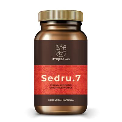 Sedru.7 emésztést serkentő gyógynövényes kapszula vény nélkül kapható