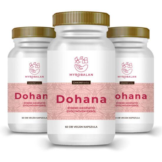 Dohana tejserkentő gyógynövényes kapszula - 3 doboz