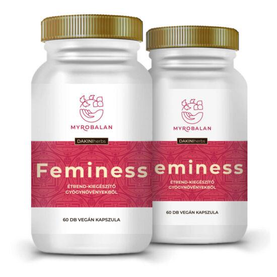 Feminess - gyógynövény kapszula a könnyed változókorért 5% kedvezménnyel egész évben
