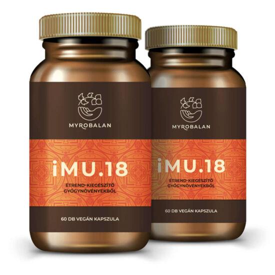 iMU.18 immunerősítő gyógynövény kapszula 5% kedvezménnyel