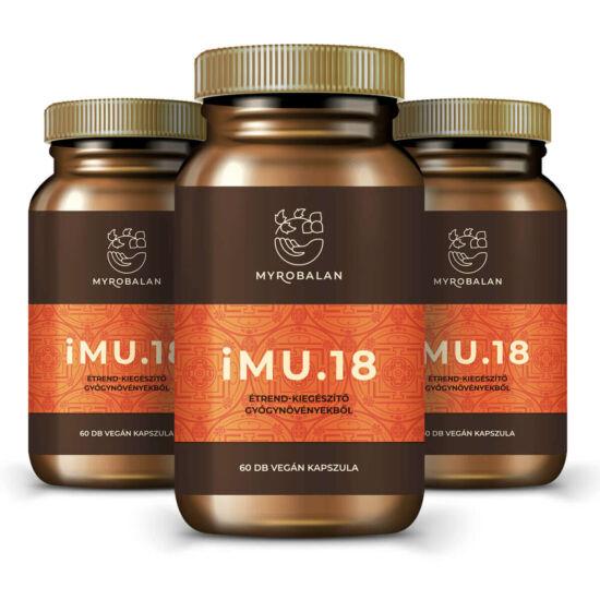 iMU.18 immunerősítő gyógynövény kapszula 10% kedvezménnyel és ingyen szállítással