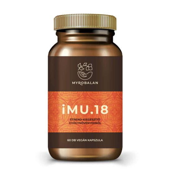 iMU.18 természetes immunerősítő gyógynövényes kapszula