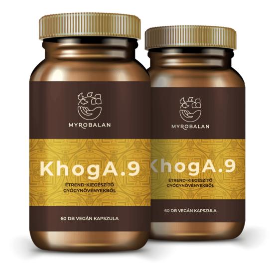 KhogA.9 természetes segítség gyógynövényekkel a reflux ellen - 2 doboz