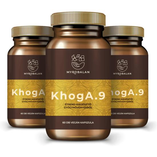 KhogA.9 természetes segítség gyógynövényekkel a reflux ellen - 3 doboz