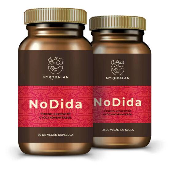 NoDida gyógynövény kapszula gombák, paraziták és férgek ellen 5% kedvezménnyel