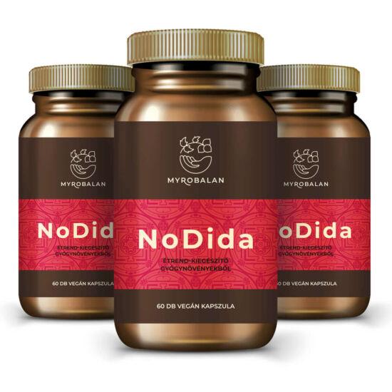 NoDida gyógynövény kapszula gombák, paraziták és férgek ellen 10% kedvezménnyel és ingyen szállítással