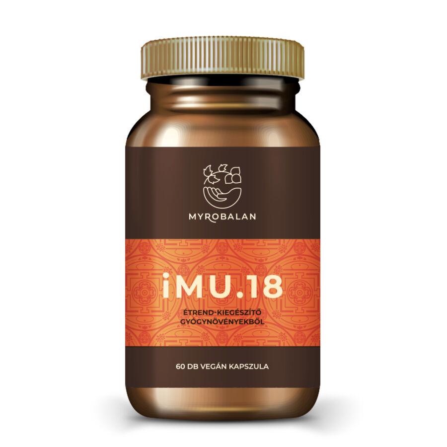iMU.18 immunerősítő gyógynövény kapszula