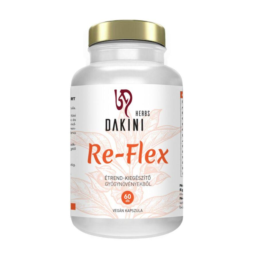 RE-FLEX - gyógynövény kapszula a rugalmas ízületekért